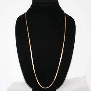 """Men's 30"""" vintage gold chain"""